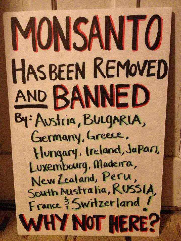 MONSANTO IS BANNED