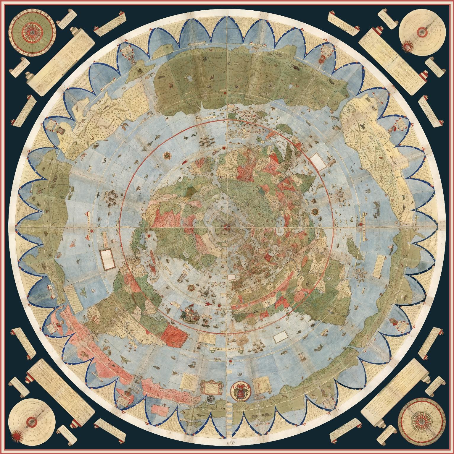 1857 World Map