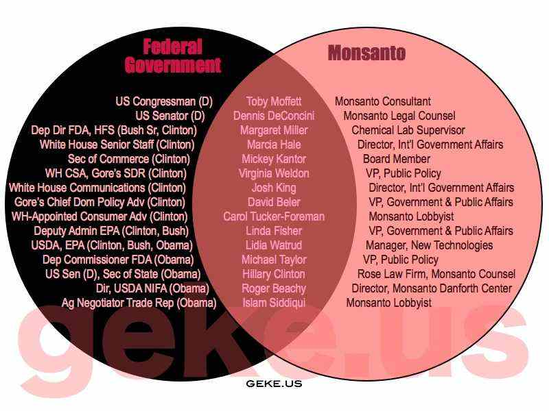 monsanto zog revolving door